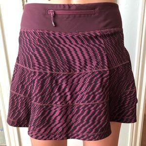 lululemon athletica Skirts - Lululemon Purple Pace Rival Skirt